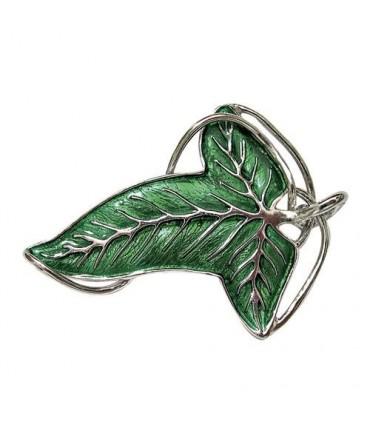 Broche Élfico (Hoja de Lórien) (Plata - Noble Collection)