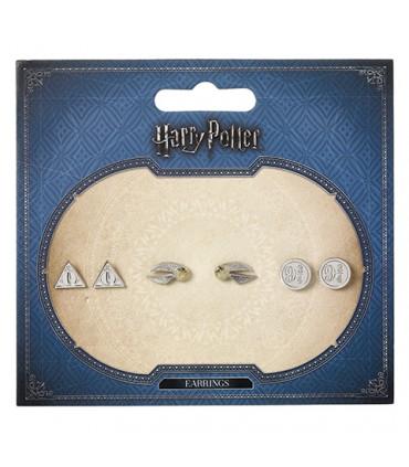 Pack de Pendientes - Harry Potter