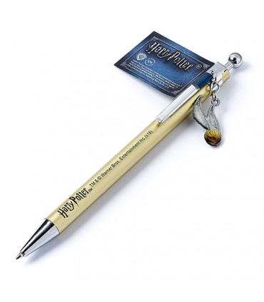 Bolígrafo con colgante de La Snitch Dorada - Harry Potter