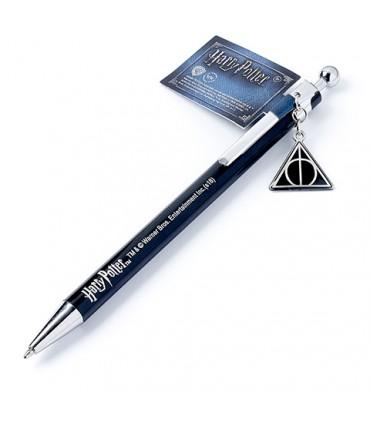 Bolígrafo con colgante de Las Reliquias de la Muerte - Harry Potter