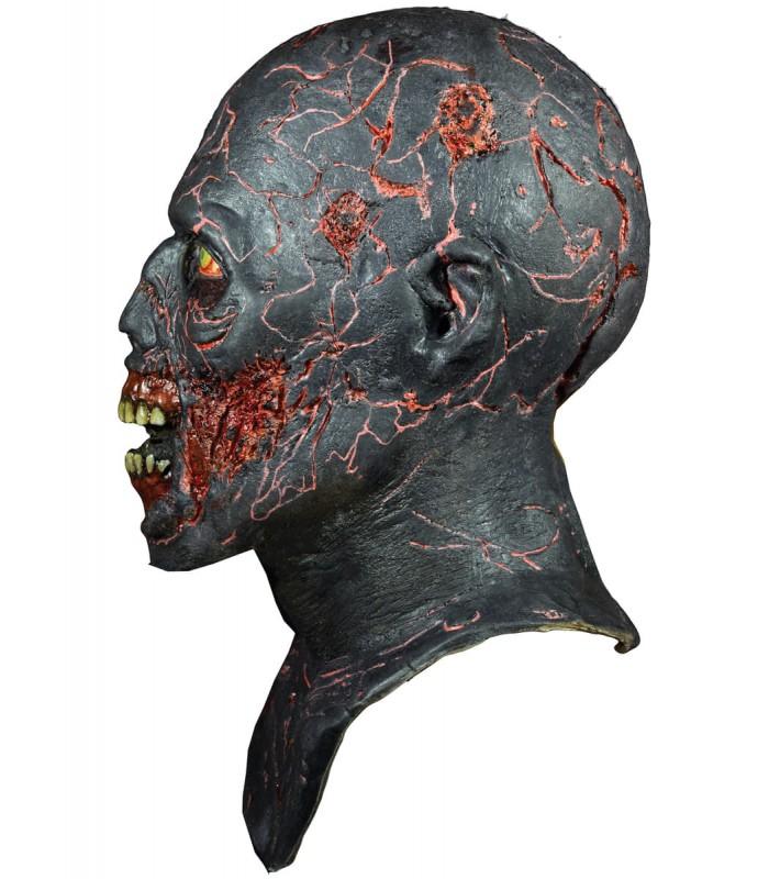 Máscara de caminante carbonizado - The Walking Dead