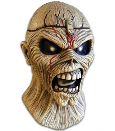 Máscara de Eddie en Piece of Mind - IRON MAIDEN