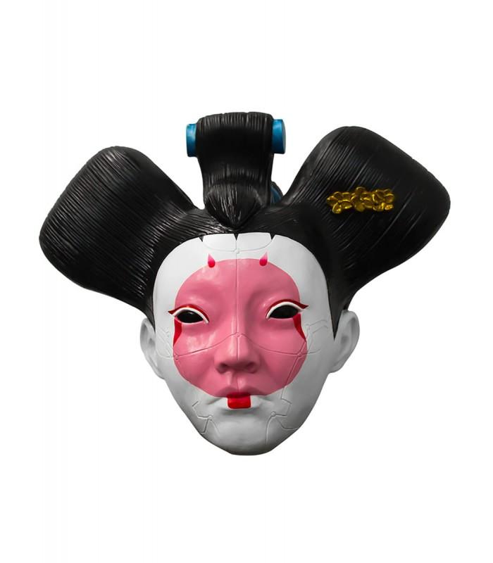Máscara de Geisha para adulto