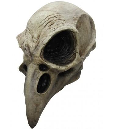 Máscara completa de Calavera de Cuervo para adulto