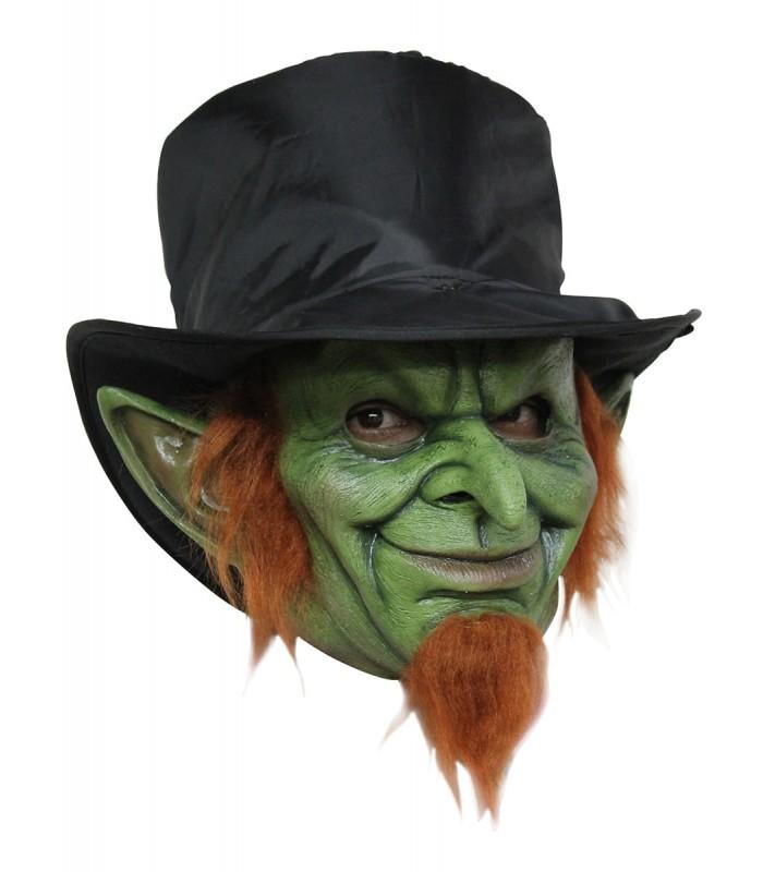 Máscara completa de Goblin loco para adulto