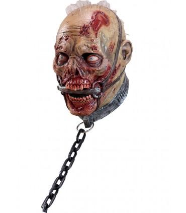 Máscara completa de Zombie esclavo para adulto