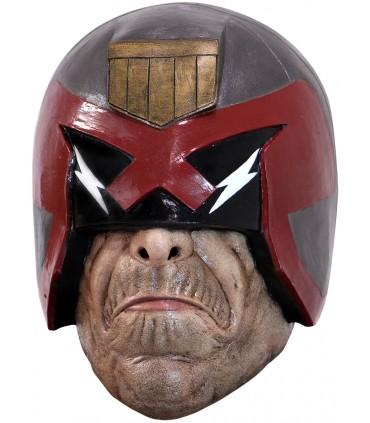 Máscara completa de Juez Dredd para adulto