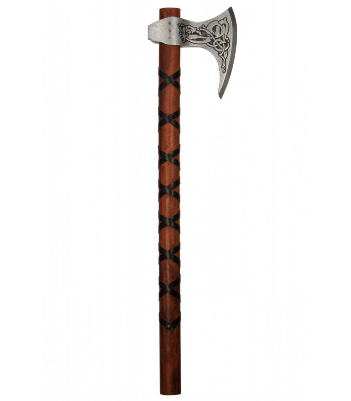 Réplica Hacha Vikinga sueca del S.IX con grabados