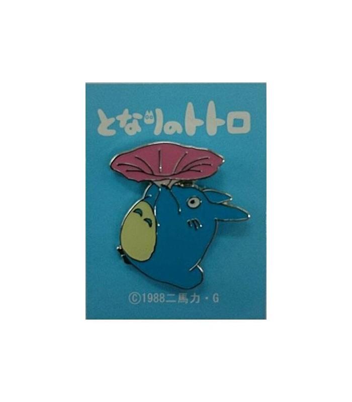Totoro azul con flor - Mi vecino Totoro