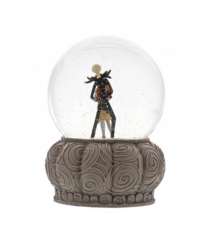 Bola de nieve de Jack Skellington y Sally - Pesadilla Antes de Navidad