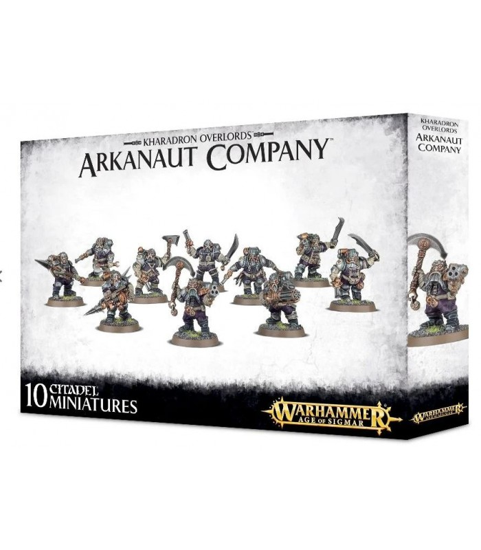 Arkanaut Company - Kharadron Overlords - Warhammer Age of Sigmar