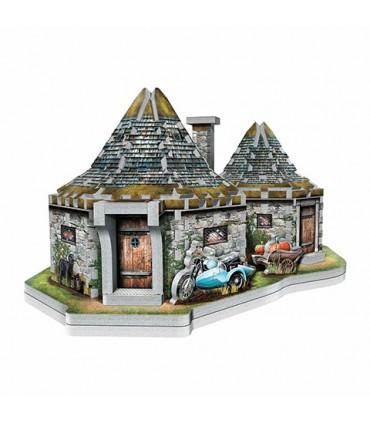 Puzle 3D Cabaña de Hagrid - Harry Potter