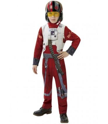 Disfraz niño Poe  X-wing - Star Wars
