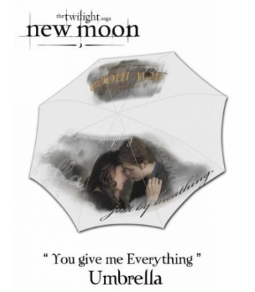 Paraguas Edward y Bella - Crepúsculo