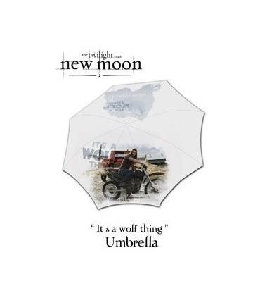 Paraguas Jacob en moto - Crepúsculo