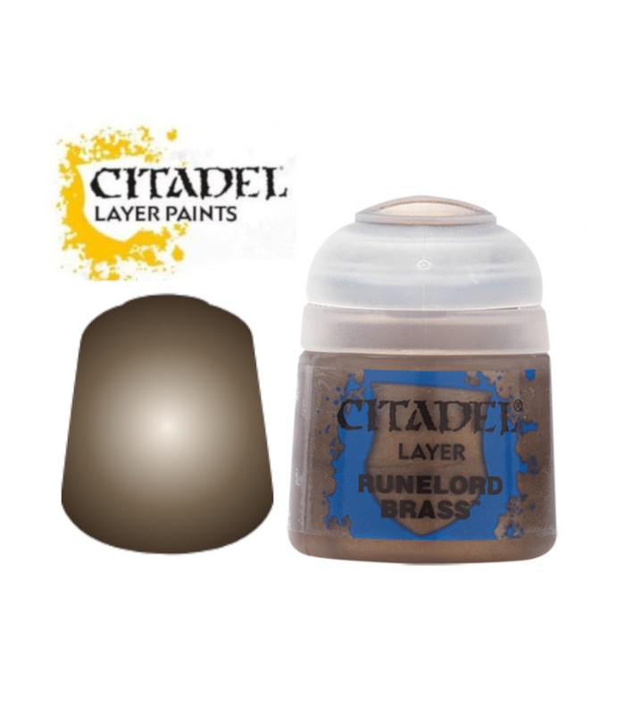 Pintura Base Runelord Brass - Citadel