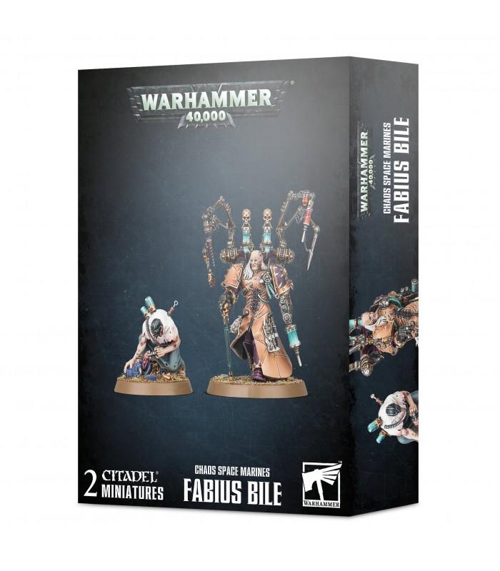 Fabius Bile - Warhammer 40.000