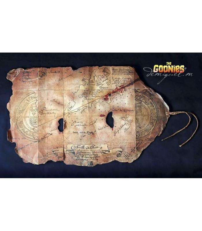 Mapa del Tesoro de Willy El Tuerto - Los Goonies