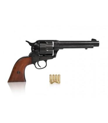 Réplica revólver Colt Single Action Army en negro