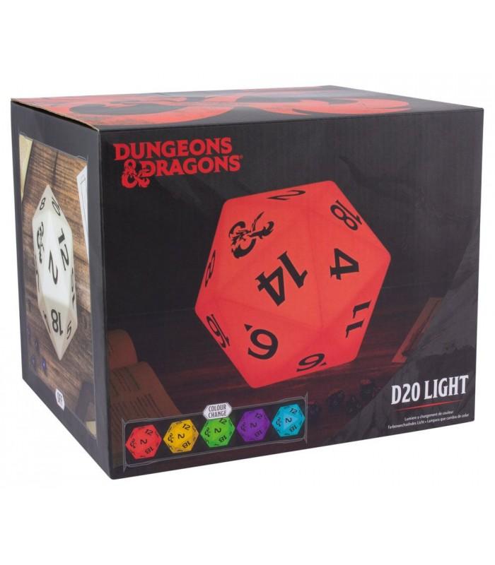 Lámpara de D20 - Dungeons&Dragons