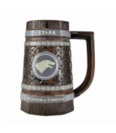 Jarra de cerveza Stark - Juego de Tronos