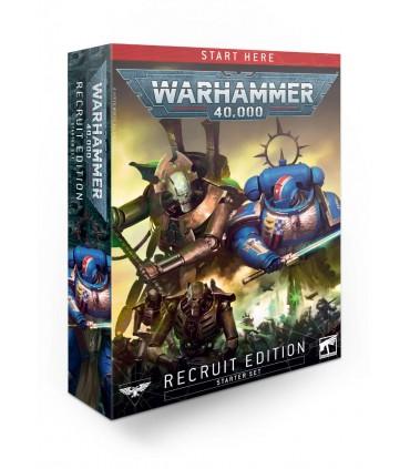 La caja de edición Recluta de la novena revisión de Warhemmer 40.000 en Cuernavilla.com al mejor precio