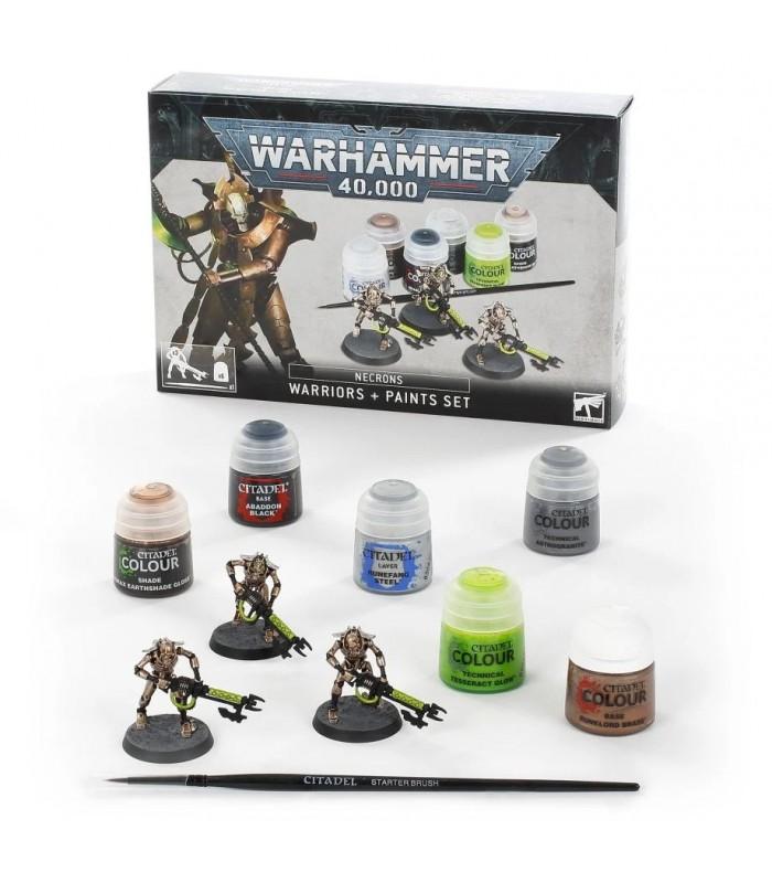 Necrones: Set de guerreros + pinturas - Warhammer 40.000