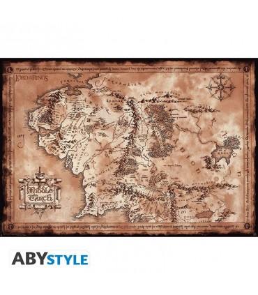 Mapa de la Tierra Media - El señor de los Anillos