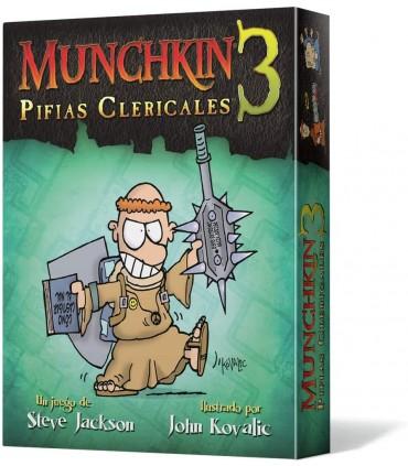 Munchkin 3 Pifias Clericales