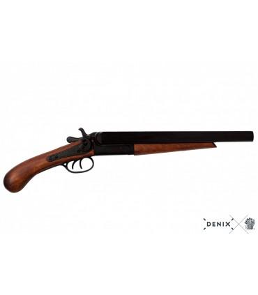 Réplica escopeta de dos cañones recortados