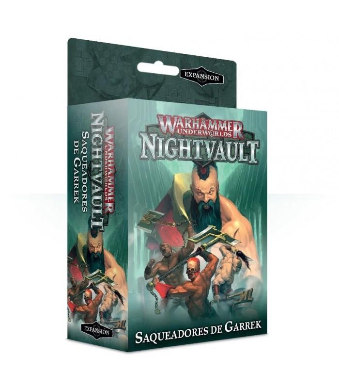 Saqueadores de Garrek - Warhammer Underworlds: Nightvault