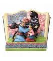 Libro de Mulán con su padre - Disney