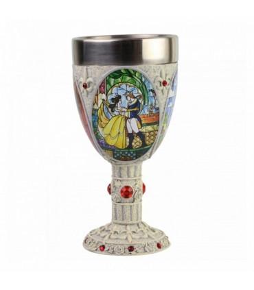 Copa mosaico - La Bella y la Bestia