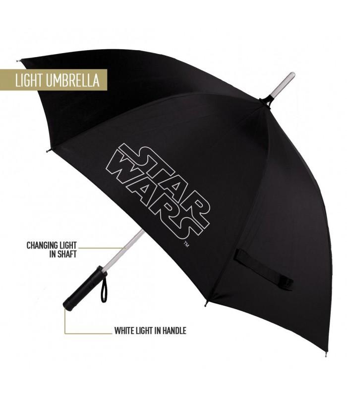 Paraguas con Luz - Star Wars