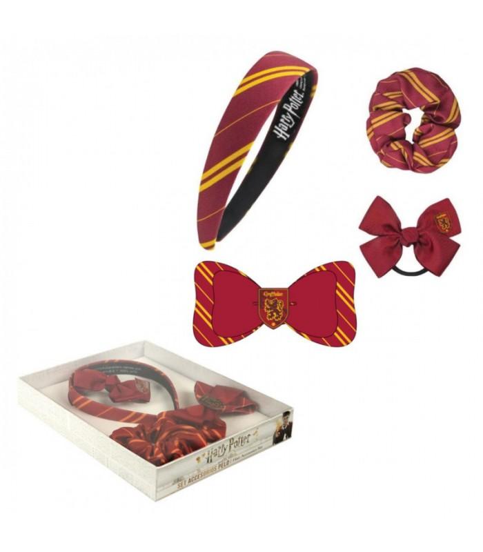 Set de accesorios para el pelo de Gryffindor - Harry Potter