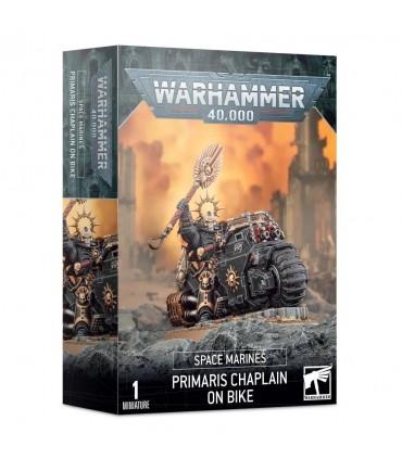 Capellán Primaris en moto - Warhammer 40.000