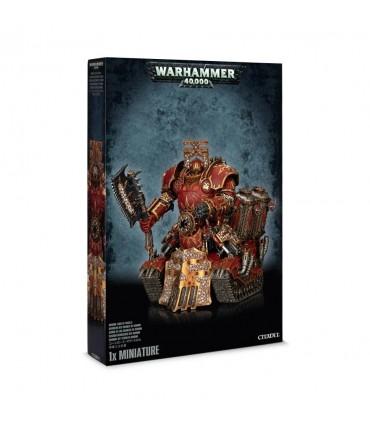 Señor de los Cráneos de Khorne de los Marines Espaciales del Caos - Warhammer 40.000