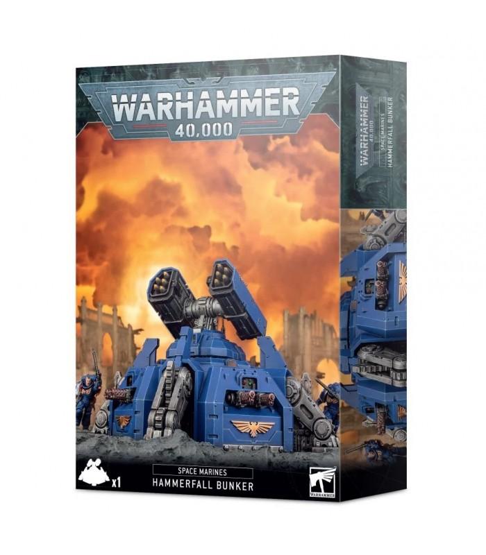 Torreta de Desembarco Hammerfall - Warhammer 40.000
