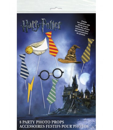 Set de complementos para photocall - Harry Potter