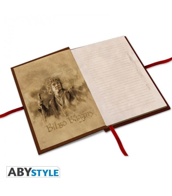Libreta de Bilbo Bolson - El Hobbit