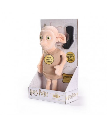 Peluche interactivo Dobby - Harry Potter