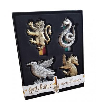 Adornos de las cuatro casas - Harry Potter