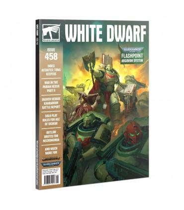 Revista White Dwarf 458 (en inglés)