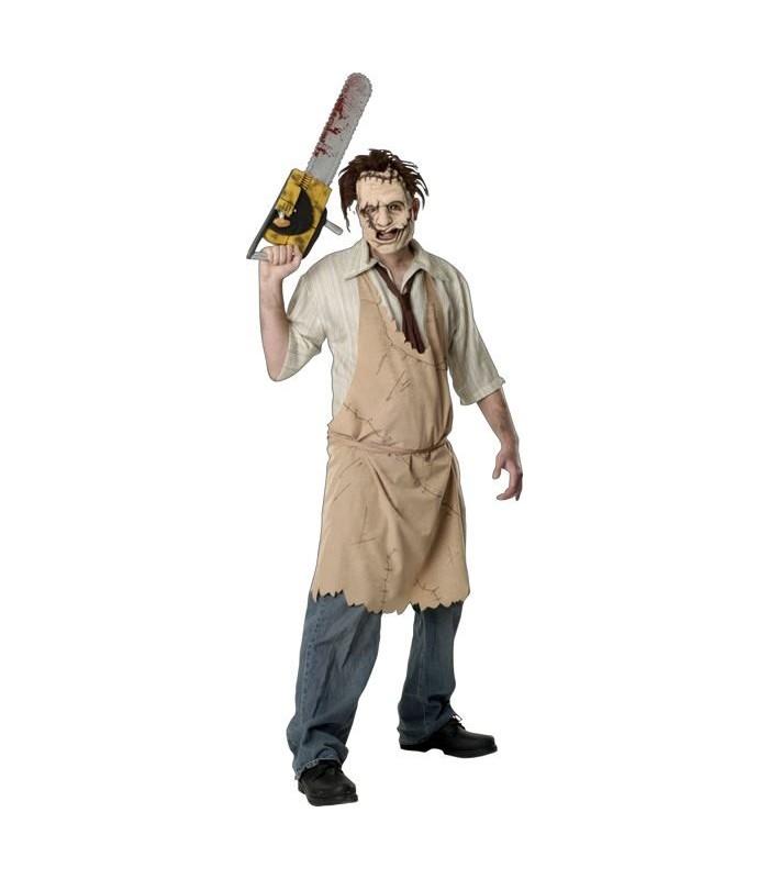 Disfraz Leatherface Caracuero La Matanza de Texas Chainsaw