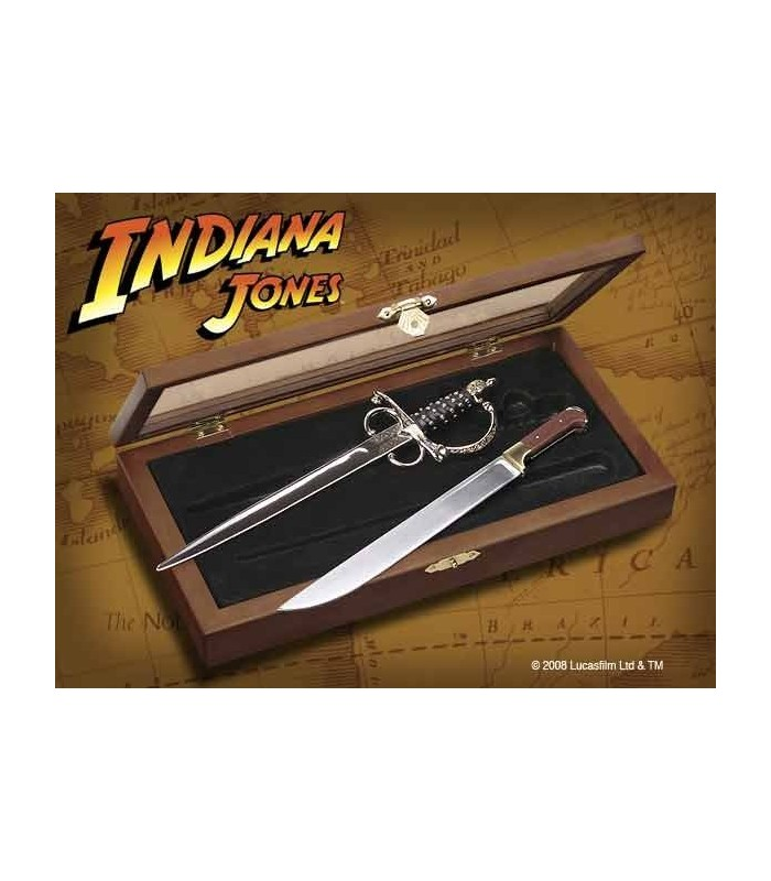 Set de Abrecartas Espada Mutt Williams y Machete Indiana Jones