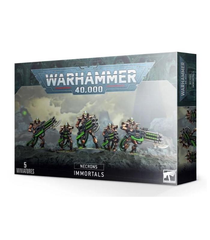 oda el capítulo de los Necrones (Necrons) en Cuernavilla.com Necron Inmortales - Warhammer 40.000 al mejor precio