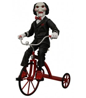 "Figura Saw ""Billy"" en Triciclo Payaso Marioneta 30cm"