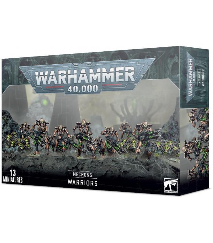 Toda la gama de miniaturas y escenografía de los Necrones en Cuernavilla.com Guerreros Necrones - Warhammer 40.000 al mejor