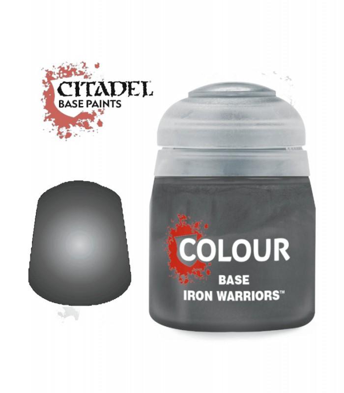 Pintura Base Iron Warriors - Citadel