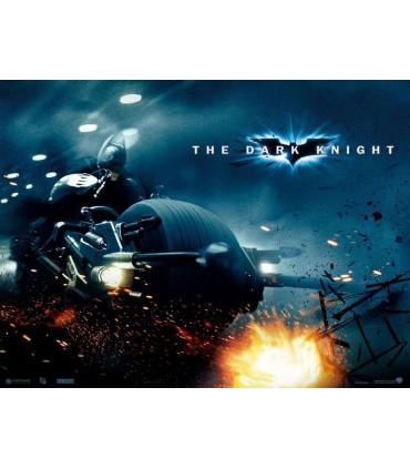 Réplica Bat-Moto a Escala Bat-Pod Batman El Caballero Oscuro